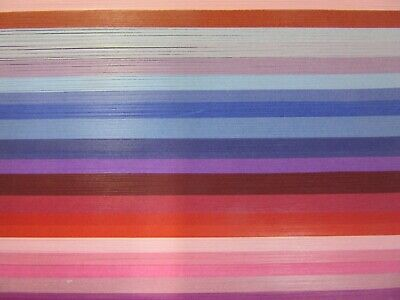 QUILLING PAPER 110gsm 3mm 500 Strips - 20 MIXED PINKS COLOURS