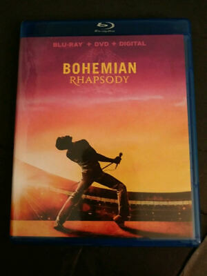 Bohemian Rhapsody (blu-ray) 2019 Queen Rock Drama Academy Award DISC ONLY!!!!!!
