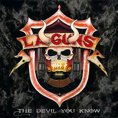 L.a.guns - The Devil You Know   Cd New+