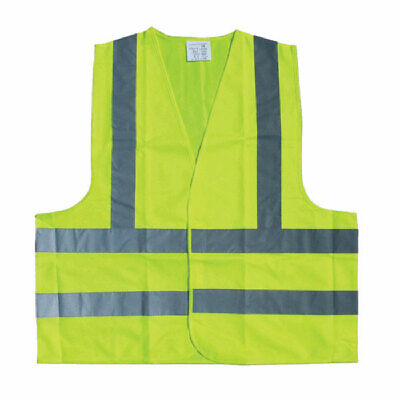Top Tech High Vis Safety Vest Emergency Breakdown Size Large Universal