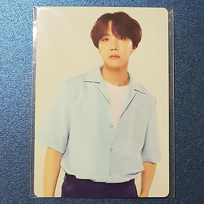 J Hope - Official Photocard BTS World Tour Concert Love Your Self Kpop