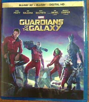 Blu-Ray 3D Guardians Of The Galaxy +2D Combo Set Marvel's