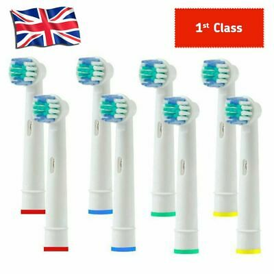 Toothbrush Heads Fits Oral B Braun Replacement Compatible Vitaliity Dual PRO
