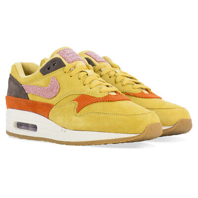 Details about Nike Air Max 1 Crepe Sole Wheat Gold Rust Pink size 8 in hand