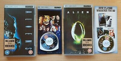 Alien and Aliens - UMD - Region 2 - English language - Other languages subtitled