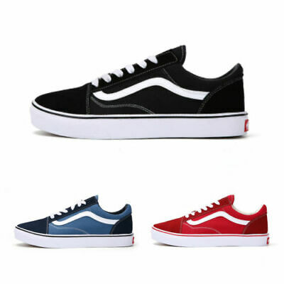 New Van s Old Skool Skate Shoes Classic Canvas Sneakers All Sizes EUR35-44