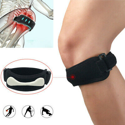 Adjustable Patella Tendon Strap Knee Support Jumpers Sports Pain Band Brace Belt