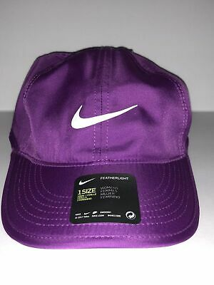 a8e04107167 BRAND NEW Nike Dri Fit Featherlight Cap Fitness Womens Hat One Size 679424  550
