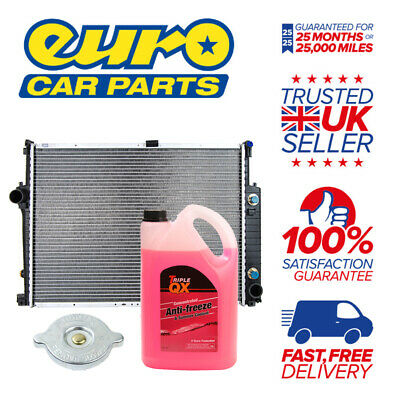 Radiator + Cap + Red AntiFreeze (Coolant) KIT - Skoda Yeti S 1.2 Petrol 09/2009-