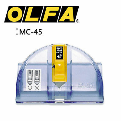 OLFA MC-45 Degree Mat Cutter Knife Leather Paper Craft Utility MADE IN JAPAN_Ec