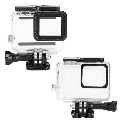 New Diving Waterproof Housing Case For GoPro Hero 7 Silver White Camera 45m ZZ