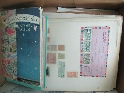 ESTATE: Old World in box unchecked unsorted as received heaps (b237)