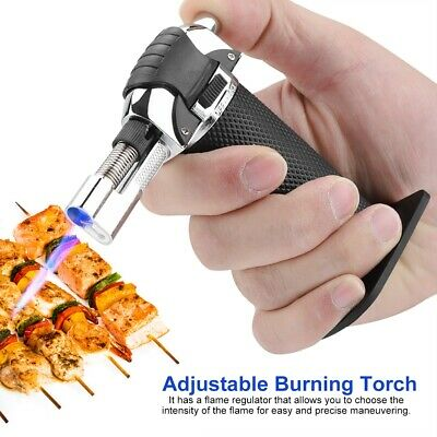 Butane Gas Micro Blow Torch Lighter Welding Soldering Brazing Refillable Igniter
