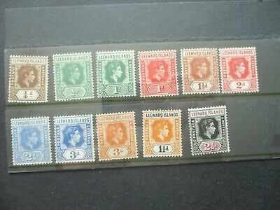 ESTATE: Leeward Islands Collection of Stamps - Must Have!! Great Value (e560)