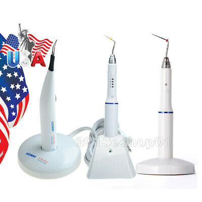Dental Cordless Wireless Obturation System Endo Heated Pen + Tooth gum Cutter