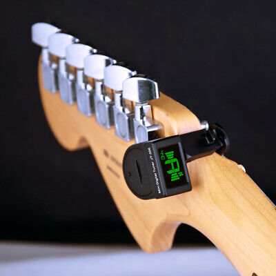 Mini Guitar Tuner Digital LCD Clip On Tuner for Electric Acoustic Classic Guitar