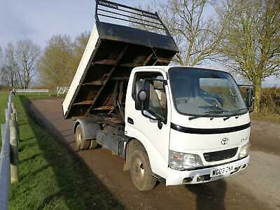 Toyota Dyna Tipper D4D Diesel low miles 139 000 miles