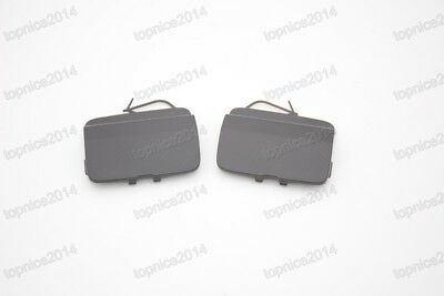 1Pair Rear Bumper-Tow Hook Eye Cap Covers For Audi Q3 2012-2013