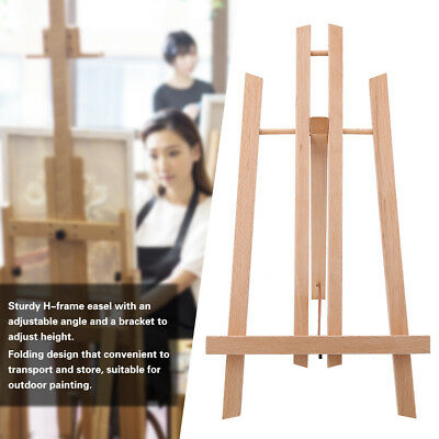 Wood Foldable Easel Artist Art Display Painting Shop Tripod Stand 21*26*36cm