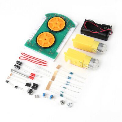 Intelligent Tracking Car DIY Accessories Kit Motor Electronic Component Set New
