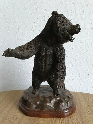 Limited Edition Cold Cast bronze Dannyquest Grizzley bear