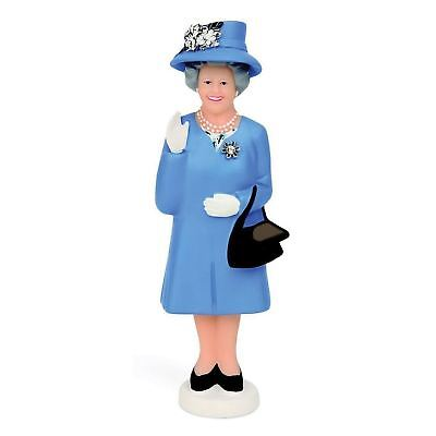 Kikkerland Polyresin Derby Edition Solar Queen Figurine Blue Hat Novelty Gift