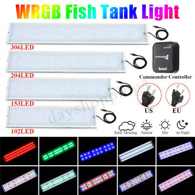 Chihiros WRGB LED Aquarium Fish Tank Lampe Plante Grow Light bluetooth Éclairage