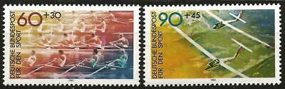 Germany (West) 1981 MNH - Sport Promotion Fund Rowing, Gliding