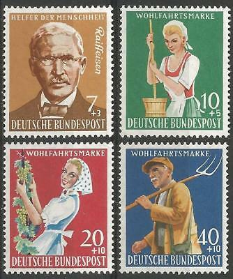 Germany (West) 1958 MNH Welfare Fund Agriculture Friedrich Raiffeisen Dairymaid