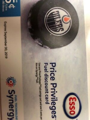 Esso Price Privileges Card Save 5 Cents A Litre Expires Sept 2019 half price