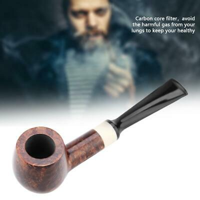 Smoking Pipe Durable Tobacco Vintage Wooden Pipes Cigar Cigarette Unique Gift
