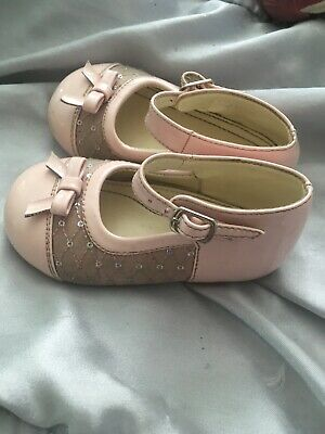Baby Girls Beautiful Designer Shoes - Early Steps Size 6