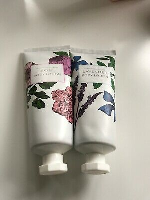 Garden Collection Rose & Lavender Body Lotion 75ml Each