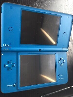 NINTENDO DSI XL Midnight Blue Used With New Charger And Instructions