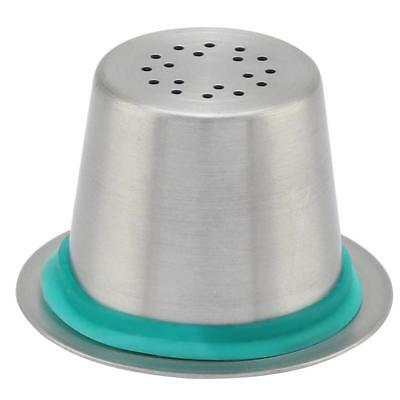 New Stainless Steel Refillable Reusable Coffee Capsule Pod For Nespresso Machine