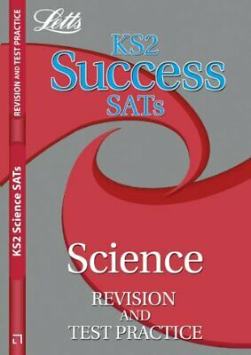 Letts Key Stage 2 Success Revision and Test Practice - Science, , Used; Good Boo