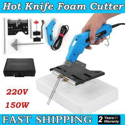 220V 150W Foam Wire Heating Knife Groove Machine Slotting Heating Cutter Tool UK