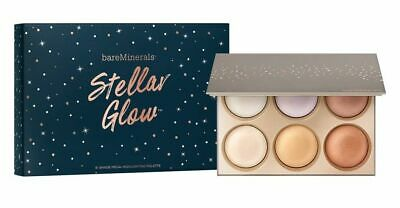bareMinerals STELLAR GLOW 6-Shade Face Highlighter Palette Limited Edition
