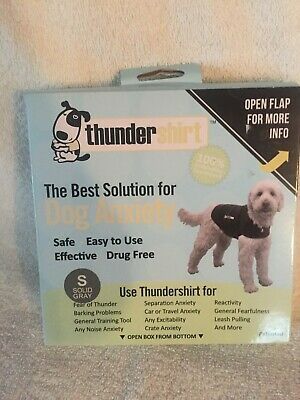 Brand New Thundershirt for Dogs in solid gray size S