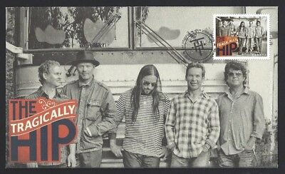 Canada  # 2656  THE TRAGICALLY HIP - SOLD OUT CANADA POST   New 2013 Unaddressed