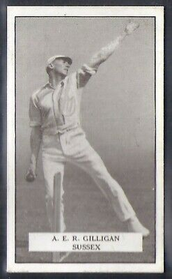 Gallaher-Famous Cricket Ers-#034- Sussex - Gilligan