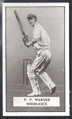 Gallaher-Famous Cricket Ers-#061- Middlesex - Warner