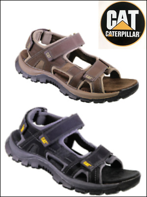 CATERPILLAR CAT sandals GILES MENS SUMMER LEATHER HOLIDAY RUGGED  WALKING Tough