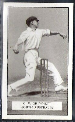 Gallaher-Famous Cricket Ers-#084- South Australia - Grimmett