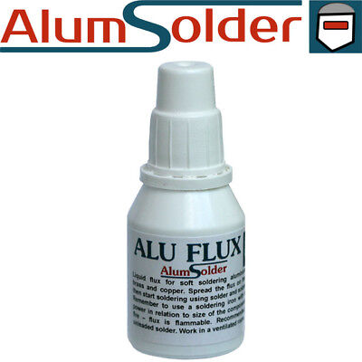AlumSolder Alu Flux - Aluminium soldering flux use soldering iron tutorial video
