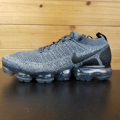 90ecd2114b28 Nike Air Vapormax Flyknit 2 Men s 942842-002 Wolf Grey Running Shoes Sz 7.5