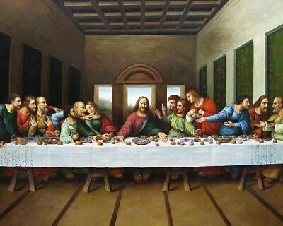 The Last Supper 8X10 Photo Art Print Picture Religion Christian Jesus