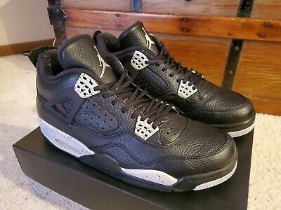 c1471d477f3 NIKE AIR JORDAN 4 IV Retro Premium Black Pony Pinnacle 4 11 XI oreo ...