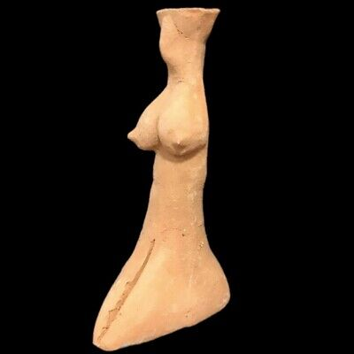 Indus Valley Pottery Goddess Figure Idol 2000 B.c. Bronze Age (7)
