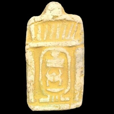 Rare Beautiful Ancient Egyptian Faience  Amulet 300 B.c. (8)